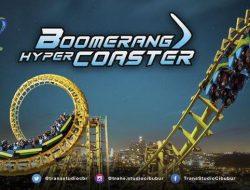 Boomerang Coaster dan 5 Wahana Ikonis Trans Studio Cibubur
