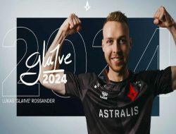 """Astralis Perpanjang Kontrak Lukas """"gla1ve"""" Rossander Hingga 2024"""