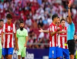 Atletico Madrid Imbang vs Bilbao, Joao Felix Diganjar Kartu Merah