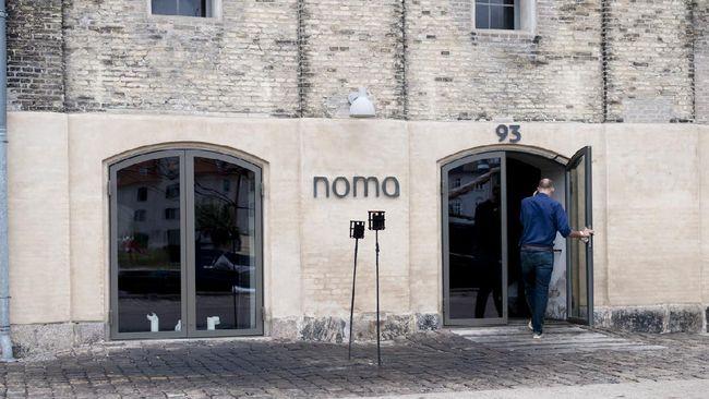 Restoran Noma, salah satu restoran top dunia di Kopenhagen, Denmark meraih Michelin star ketiganya pada Senin (13/9).
