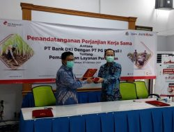Bank DKI Jalin Kerjasama dengan PT PG Rajawali I