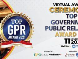 GPR Institute dan SuaraPemerintah.ID Gelar TOP GPR Award 2021
