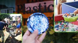 Prajurit plastik menghadapi rasa malu Singapura yang tidak didaur ulang, satu per satu coaster yang didaur ulang